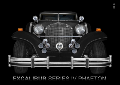 Excalibur Series IV Phaeton produced 1980-1985