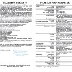 Excalibur Series 4 Catalog P7