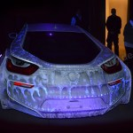 BMW i8 Design-Car im MAC Museum Art & Cars in Singen