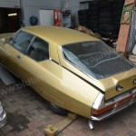 Citroen SM in Gold-metallic