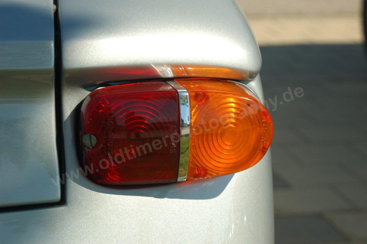 Opel Kadett A Spider mit aufgesetzten ovalem Blinker