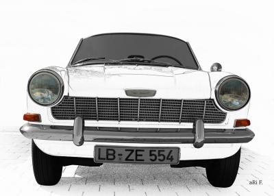 Opel Kadett A Spider in graphit
