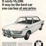 1966 BMW Sports Coupe Advertisement Road & Track October 1966 Quelle SenseiAlan