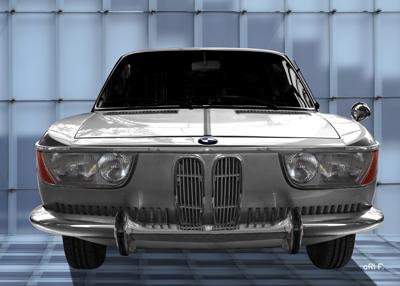 BMW 2000 Coupé in Originalfarbe