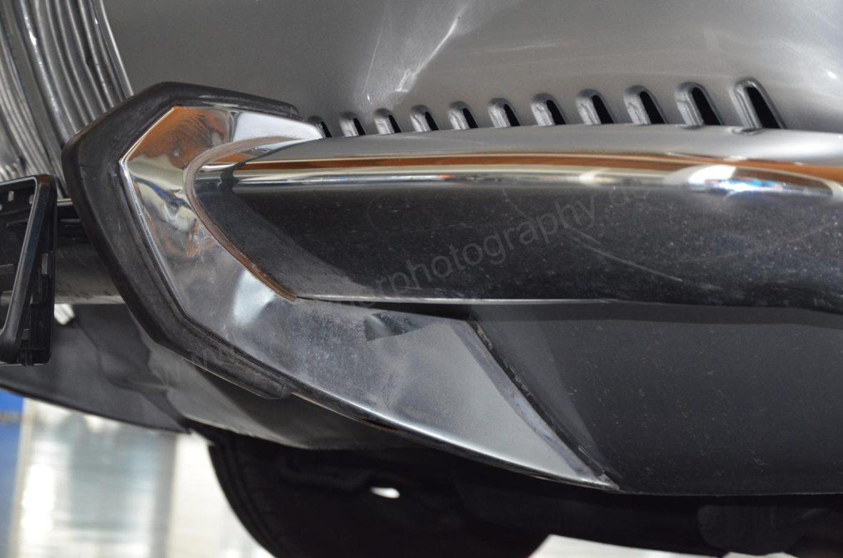 BMW 2000 CA mit Stoßfänger Detailaufnahme