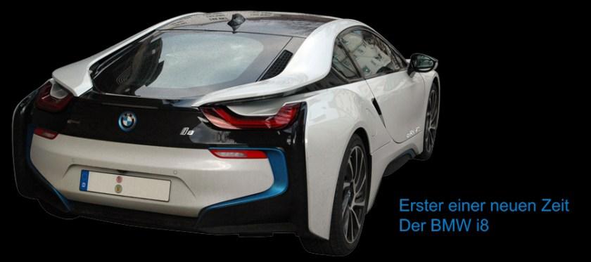 BMW i8 - Erster einer neuen Zeit, 2014 Advertising