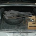 Mercedes-Benz W 110 200 D Kofferraum
