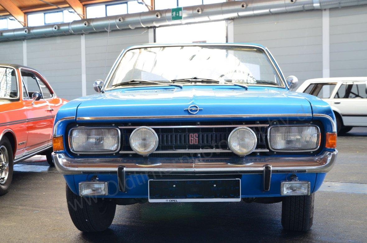 Opel Commodore A Cabriolet in Originalfarbe
