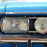 Opel Commodore A Cabriolet Front und H2-Scheinwerfer