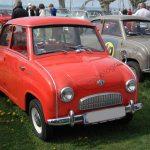 Goggomobil T bei einem Oldtimertreffen am Bodensee