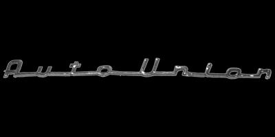 Logo Auto Union auf AU 1000 Sp