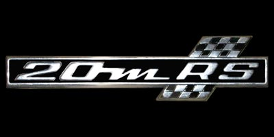 Logo Ford 20M RS P7