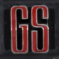 Logo Opel Commodore A GS 2500/6