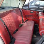 Mercedes-Benz W 110 190 Sitzgarnitur hinten