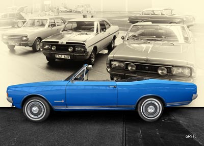 Opel Commodore A Cabriolet Bilder