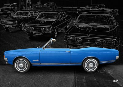Opel Commodore A Cabriolet in Originalfarbe