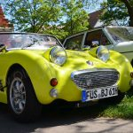 Austin-Healey Frogeye shocked yellow