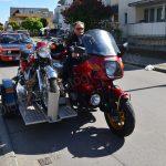 BMW mit Motorradtrailer und er war nicht der einzige!