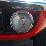 Opel GT mit Halogen-Scheinwerfer unter der Stoßstange