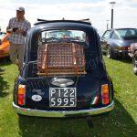 Fiat 500 mit Original italienischem Kennzeichen