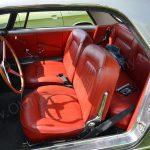 Lancia Flaminia GT Coupé 2800 Interieur mit roter Lederausstattung