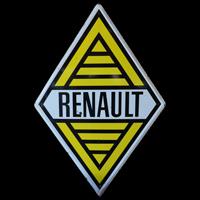 Logo Renault Original-Emailleschild