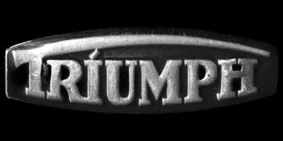 Logo Triumph Knirps Moped auf Benzintank integriert 1953-1957