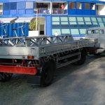 Magirus-Deutz Sirius D7L mit Schiffsaufleger für eine Riva Tritone