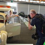 Model und Pressefotograf