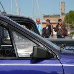Opel Monza Cabriolet Seitenfensterdetail