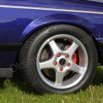 Opel Monza Cabriolet mit Alu-Felgen von BORBET