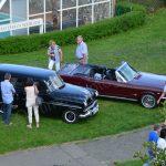 Opel Olympia Rekord Caravan und Ford Mustang Cabriolet