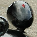 Citroën Traction Avant Scheinwerfer von hinten