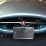 Jaguar E-Type Serie I Roadster Frontdetail mit Logo Jaguar