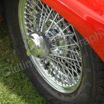 Jaguar E-Type Serie I Roadster mit Original-Speichenfelgen