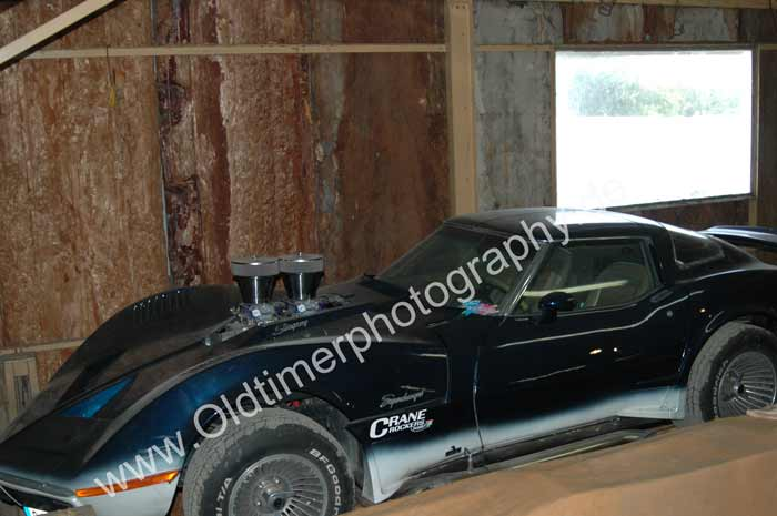 Chevrolet Corvette C3 Supercharged barns fund