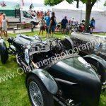 Alvis Speed 20 SA 1933-1934 rechts ein Alvis Experimental von 1938