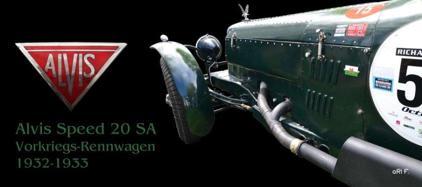 Alvis Speed 20 SA (1933-1934) Vorkriegs-Rennwagen