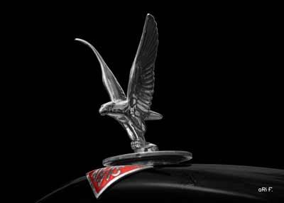 Alvis Speed 20 SA Silver Eagle Kühlerfigur
