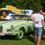 BMW 503 Coupé Serie 2 von 1958 und für mich der automobile Star beim Oldtimertreffen Wolfegg