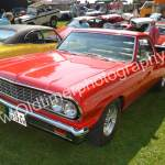 Chevrolet Chevelle ElCamino Pick-up beim Picknick in Wolfegg