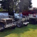 Original erhaltene US Army Jeeps in Wolfegg beim Oldtimer Picknick