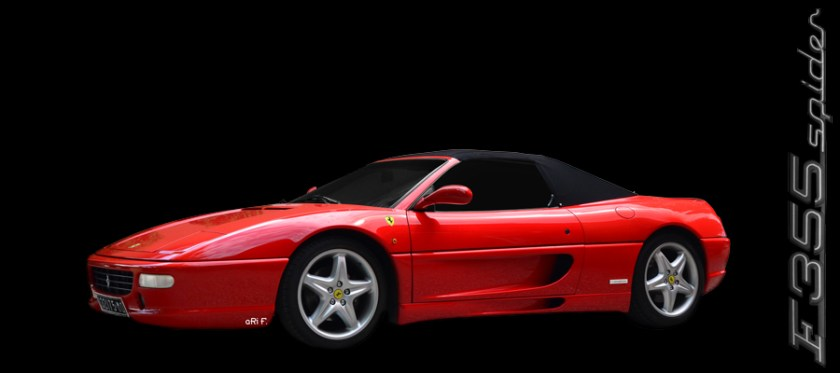Ferrari F 355 Spider Poster for sale