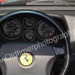 Ferrari F355 Spider Interieur und Messinstrumenten