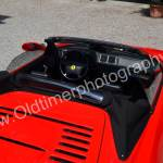 Ferrari F355 Spider von oben im geöffneten Zustand