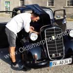 1. Stop mit Opel 1397 - defekter Benzinleitung