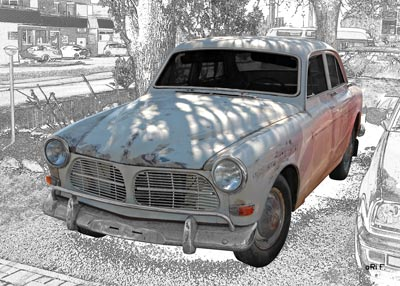 Volvo Amazon Scheunenfund (Originalfarbe)