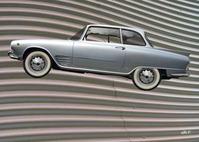 Auto Union 1000 SE millespecial in silver edition