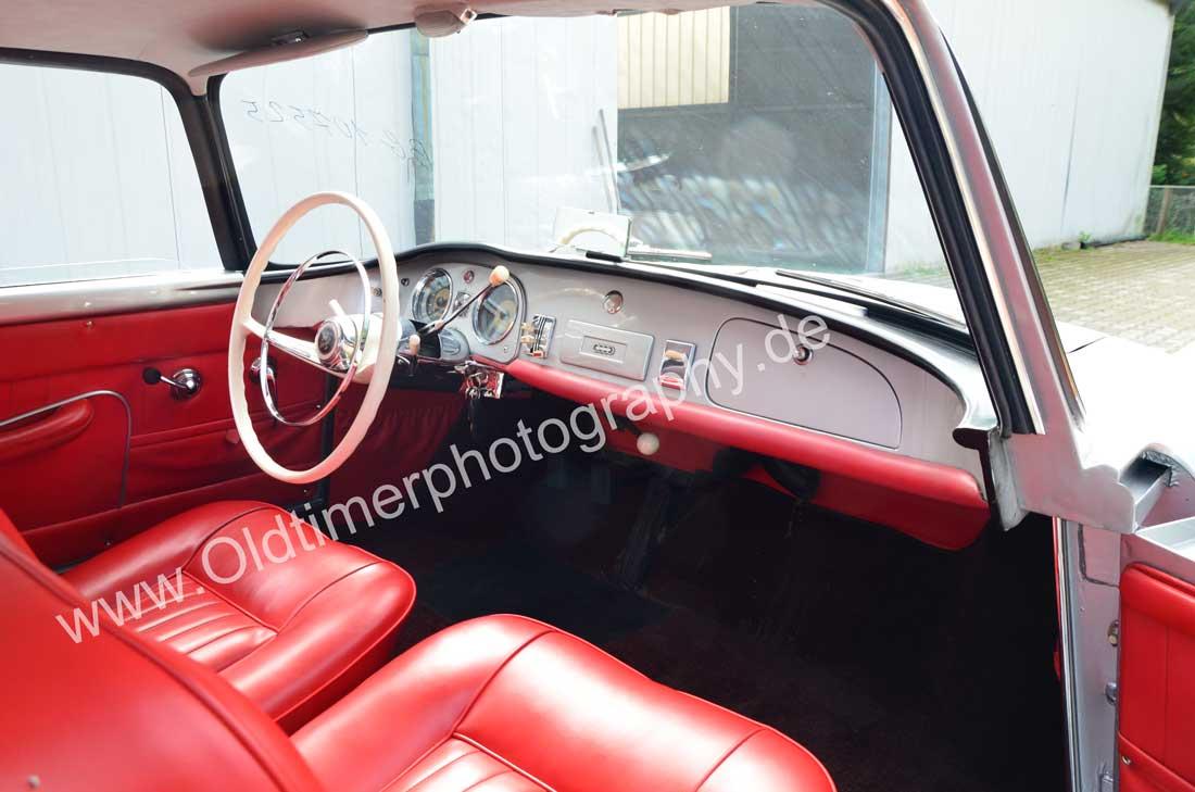 Auto Union 1000 SE millespecial mit roten Ledersitzen