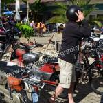 Motorrad-Parcour bei der 5. Kressbronn Classics